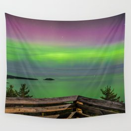 Sugar Loaf Northern Lights Wall Tapestry