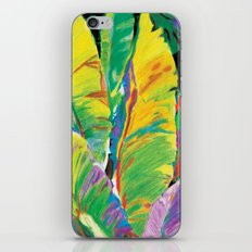 Exotic Leaves iPhone & iPod Skin