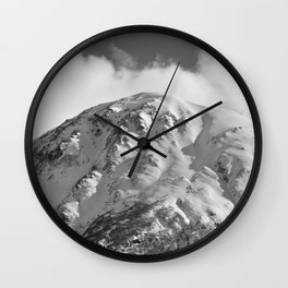 Snowy Alaskan Mountain - 2 Wall Clock