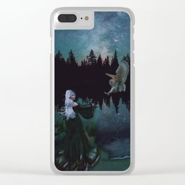 'Tis the night Clear iPhone Case
