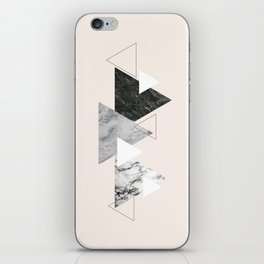 Marble mountains iPhone Skin