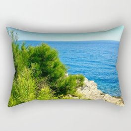 Cap Ferrat Seaside Rectangular Pillow