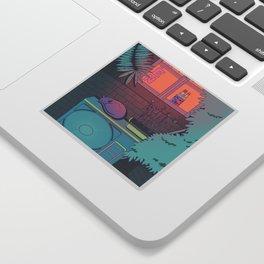 Ramune Cat Sticker