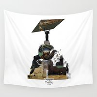 budapest Wall Tapestries featuring Cityscape of Budapest by Yvette en vogue