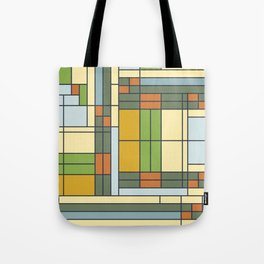 Frank lloyd wright pattern S01 Tote Bag