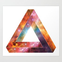 Galactic Triangles : The Otherside Art Print
