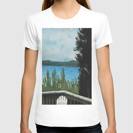 LOOKING OUT MY BACK DOOR T-shirt