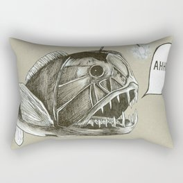 Afraid of the Dark Rectangular Pillow