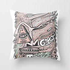 Hirsute Throw Pillow