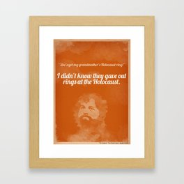 The Hangover Framed Art Print