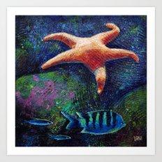 Aquatic (3 of 3) Art Print