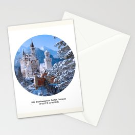 008: Neuschwanstein Castle Stationery Cards