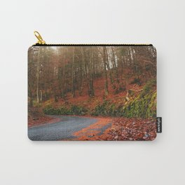 The Orange Forest Carry-All Pouch