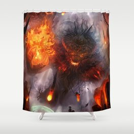 To Hunt Gods Shower Curtain