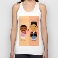 fresh prince Tank Tops featuring The Fresh Prince by Evan Gaskin