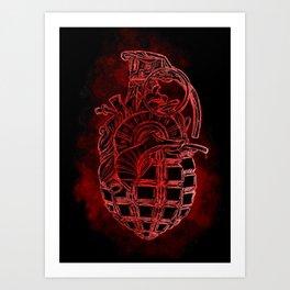 Painwork Art Print