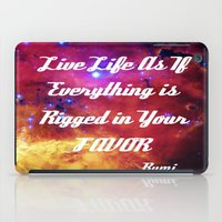 inspiration iPad Cases featuring Rumi by 2sweet4words Designs