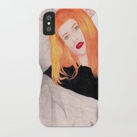 hayley williams iPhone & iPod Cases featuring Hayley Williams by Natalie Huber