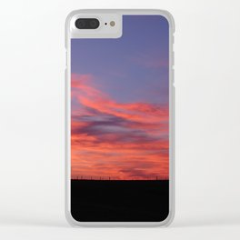 Living Skies Clear iPhone Case