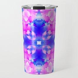 Crystal Flowers Mandala Travel Mug