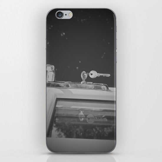 Don't Forget to Lock the Door  iPhone & iPod Skin
