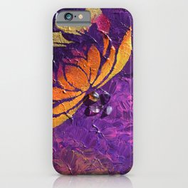 Lotus Fluff iPhone Case