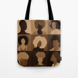FOR BROWN GIRLS COLLECTION COLLAGE Tote Bag