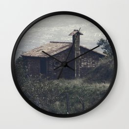 A Little House In The Andes Wall Clock