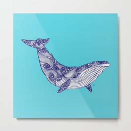 Humphrey the Humpback Metal Print