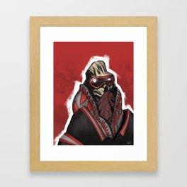 Real MFing G's Framed Art Print