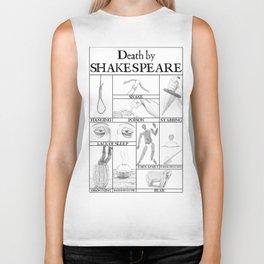 Death by Shakespeare Biker Tank