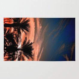 Palm Sunset Rug