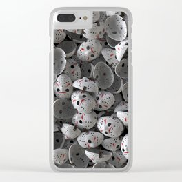 Full of Jason Voorhees Clear iPhone Case