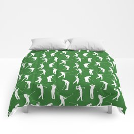 Golfers on the Fairway Comforters