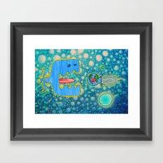 Sailing Without Destination  Framed Art Print