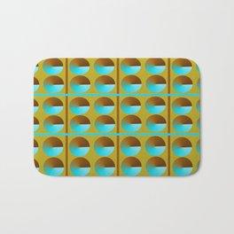 Circle Pattern Bath Mat