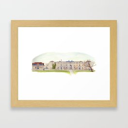 Seamen's Hospital, Greenwich, London, UK Framed Art Print