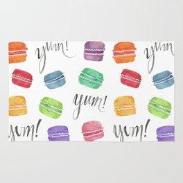 Yum! Macarons Rug