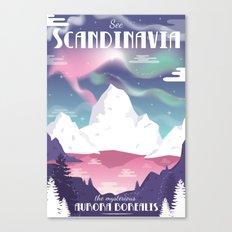 See Scandinavia Canvas Print