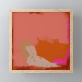 Double soul one body Framed Mini Art Print