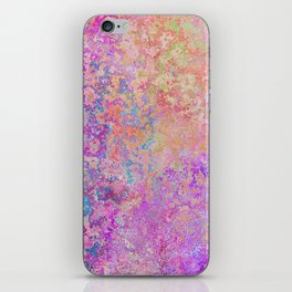 Chipping Rainbow iPhone Skin