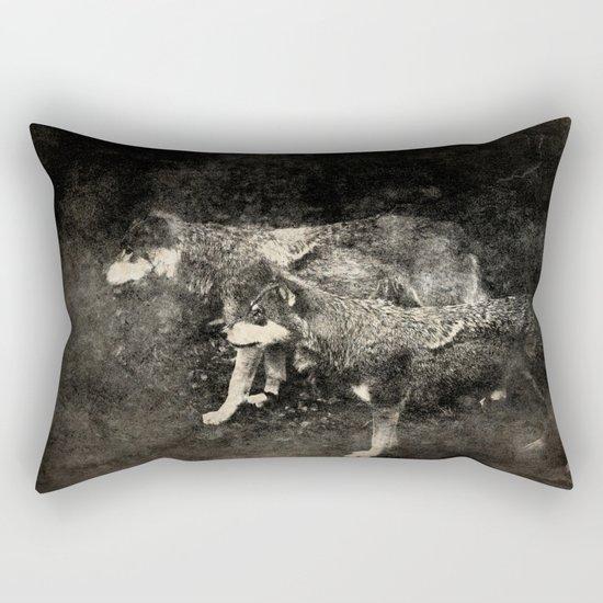 The tribesmen Rectangular Pillow