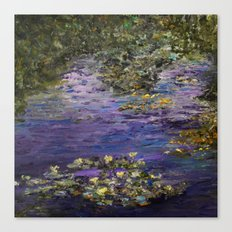 Monet's Giverny Gardens Canvas Print