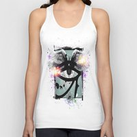 all seeing eye Tank Tops featuring All Seeing Eye by Cody Norris