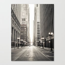 Light Way Canvas Print