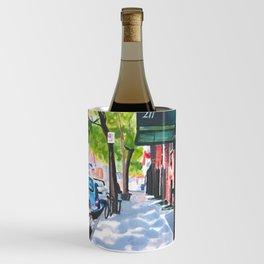 Sunday Morning in Brooklyn, NY Wine Chiller