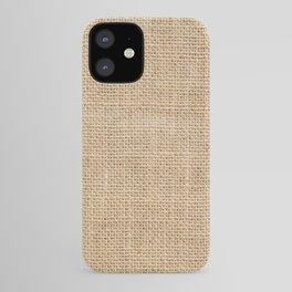 Burlap Fabric iPhone Case