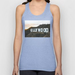 Hollywood Sign (Los Angeles, CA) Unisex Tank Top