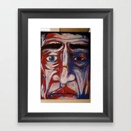Acrylic on Canvas Framed Art Print