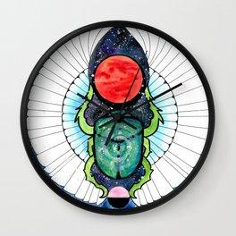 Space Beetle Wall Clock